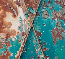 Teal and Rust by Bethany Helzer