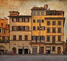 In the piazza by Peter Hammer