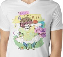 Raging Queer Mens V-Neck T-Shirt