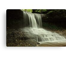 the Cascades of Glen Helen Canvas Print