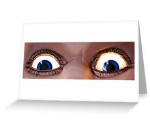 Ol' Blue Eyes Is Back! Luna Park - Sydney Greeting Card