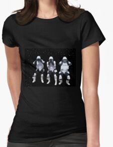 storm troopers Womens Fitted T-Shirt
