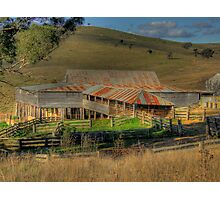 Freemantle Road Shearing Shed 001 Photographic Print