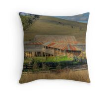 Freemantle Road Shearing Shed 001 Throw Pillow