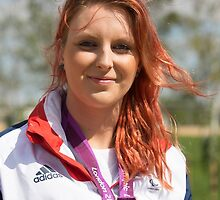 Jessica-Jane Applegate MBE by Keith Larby