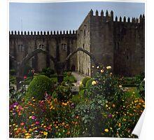 Orange, Santa Barbara Garden, Braga  Poster