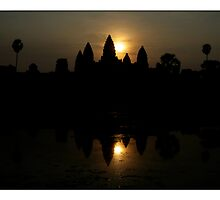 Angkor Dawn by Adam Martin