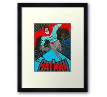 Batman to the rescue Framed Print