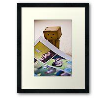 comic danbo Framed Print