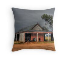 Wilber Stables Throw Pillow