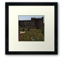 Pink, Santa Barbara Garden, Braga Framed Print