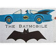 The Bat car Photographic Print