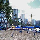 Early Morning Waikiki by Bradley Old