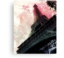 Souvenir de Paris Canvas Print