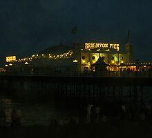 Pride Night Pier by John Nutley