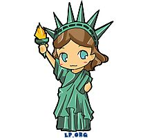 Lil Libby the Libertarian Photographic Print