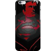 Superman looking for a fight iPhone Case/Skin