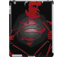 Superman looking for a fight iPad Case/Skin