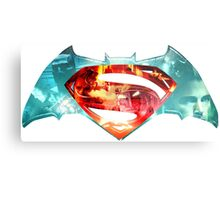 Dawn Of Justice 'Collage' Metal Print