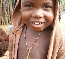 Himba child, Namibia by rinajoy