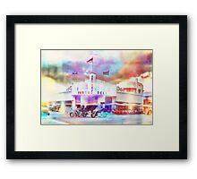 Miami Jerry's Famous Deli Framed Print