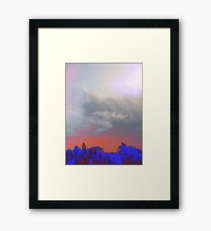 Wildfire - A Tribute Framed Print
