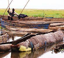 Canoe Port, Lake Chilewa. Malawi by rinajoy