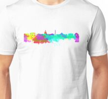 Washington DC Skyline - Water Colours Unisex T-Shirt