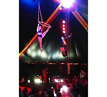 When circus came to town... Photographic Print