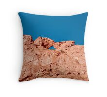 Smooching Camelus Throw Pillow