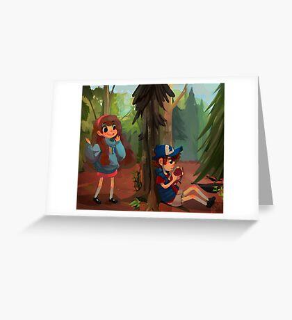 Gravity Falls Print Greeting Card