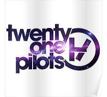 twenty one pilot white Poster
