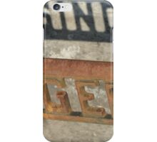 The Singer Sewing Machine  iPhone Case/Skin