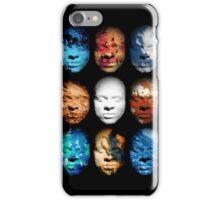 Mask No.4 - Abstract Digital Art iPhone Case/Skin