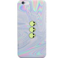 Alien Tumblr Phone Case - Iridescent, Holographic, Pale iPhone Case/Skin