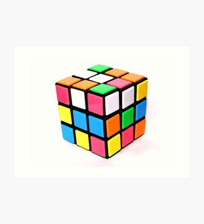 Rubix Cube. Art Print