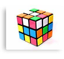 Rubix Cube. Canvas Print