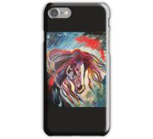 #Midnight Ride  #PopArt #Abstract Painting #BlackBeauty  iPhone Case/Skin