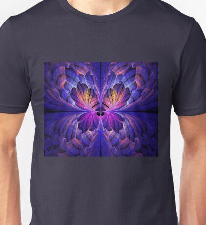 Blue Paper Butterfly Unisex T-Shirt