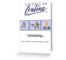 American Online Greeting Card