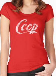 CCCP Women's Fitted Scoop T-Shirt