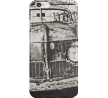 This Old Car: Black and White iPhone Case/Skin