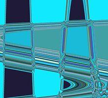 Blue Art by Helen Shippey