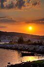 Kefalonian Sunset 3 by Paul Thompson Photography