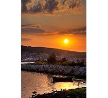Kefalonian Sunset 3 Photographic Print