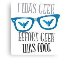 Geek Pride - Nightwing Canvas Print