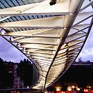 Campo Volantn footbridge, Bilbao, Spain by jmhdezhdez