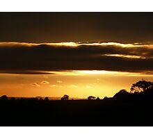 Sunset strip. Photographic Print