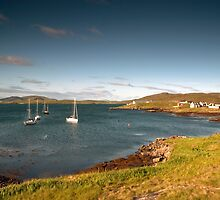Barra: Early Morning in Castlebay by Kasia-D