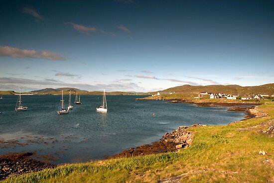 Barra: Early Morning in Castlebay by Kasia-D